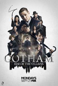 Gotham sezon 2 plakat