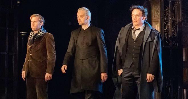 Dorośli Ron Draco i Harry